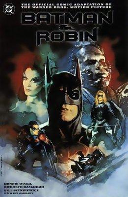 Batman Amp Robin Movie Adaptation 1 Dc Comics