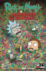Oni Press's Rick and Morty vs Dungeons & Dragons: Chapter II - Painscape Issue # 4b