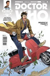 Titan Comics's Doctor Who: 10th Doctor - Year Three Issue # 2e
