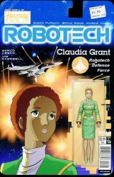 Titan Comics's Robotech Issue # 6b