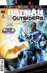 DC Comics's Batman and the Outsiders Issue # 3