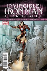 Marvel's Invincible Iron Man Issue # 504
