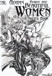 Self-Published's Neal Adams: Rowdy and Beautiful Women Sketchbook Soft Cover # 1