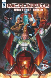 IDW Publishing's Micronauts: Wrath of Karza Issue # 5ri