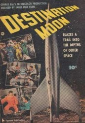 Fawcett Publications's Destination Moon Issue nn