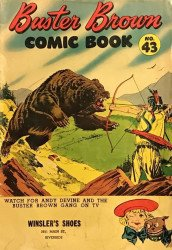 Buster Brown Shoes's Buster Brown Comics Issue # 43winslors