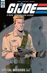 IDW Publishing's G.I. Joe: A Real American Hero Issue # 253