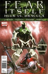 Marvel Comics's Fear Itself: Hulk vs Dracula Issue # 3b