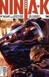 Valiant Entertainment's Ninja-K Issue # 14b