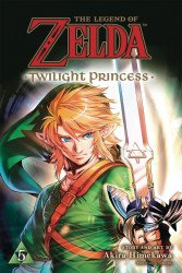Viz Media's The Legend of Zelda: Twilight Princess Soft Cover # 5
