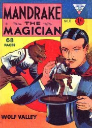 L. Miller & Son's Mandrake the Magician Issue # 6