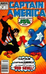 Marvel's Captain America Issue # 350
