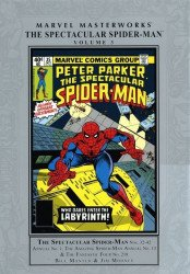 Marvel Comics's Marvel Masterworks: Spectacular Spider-Man Hard Cover # 3