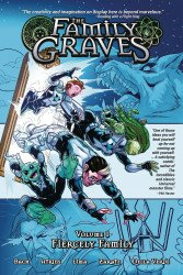 Source Point Press's The Family Graves TPB # 1