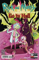 Oni Press's Rick and Morty: Go to Hell Issue # 1c