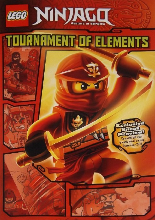 Lego Ninjago: Tournament of Elements Preview nn (Little, Brown Books ...