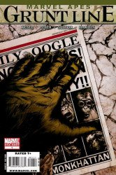 Marvel Comics's Marvel Apes: Grunt Line Special Special # 1