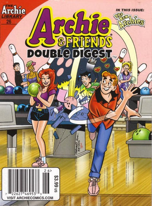 Archie Comics Groups Friends Double Digest Issue 26