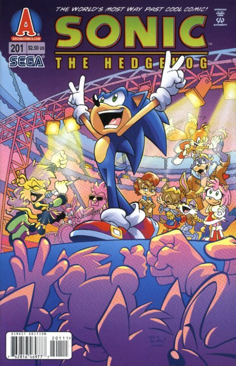 Sonic the Hedgehog Issue # 248b (Archie Comics Group)