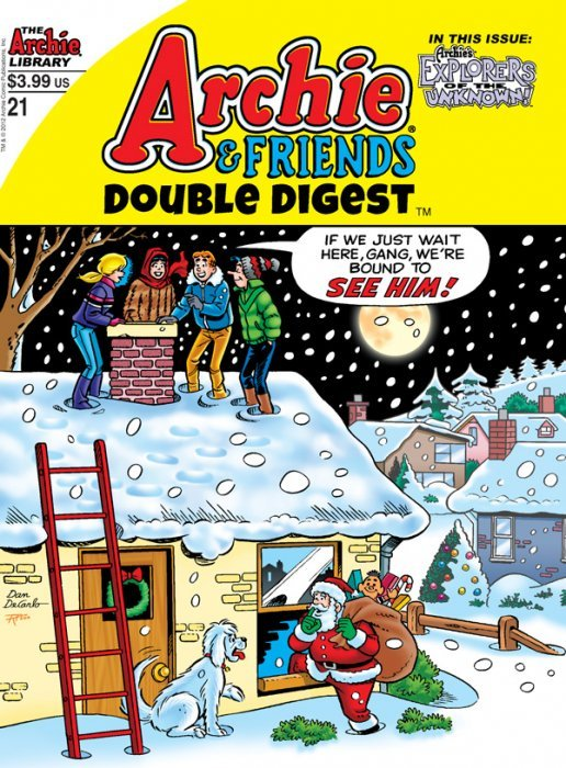 Archie Comics Groups Friends Double Digest Issue 21
