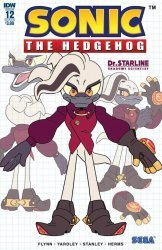 IDW Publishing's Sonic the Hedgehog Issue # 12b