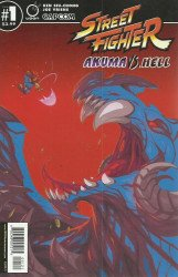 Udon Entertainment's Street Fighter: Akuma vs Hell Issue # 1b