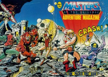 London Editions Magazines's Masters of the Universe Adventure Issue # 1