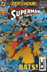 DC Comics's Superman: Man of Steel Issue # 37b