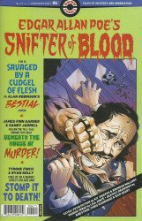 Ahoy Comics's Edgar Allan Poe's Snifter of Blood Issue # 4