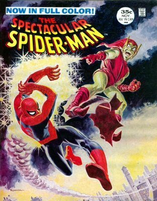 The spectacular spider man comic book value