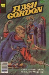 Gold Key's Flash Gordon Issue # 24whitman
