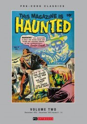 PS Artbooks's Pre-Code Classics: This Magazine Is Haunted Hard Cover # 2