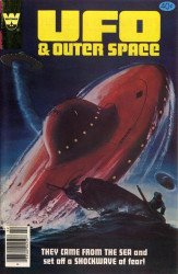 Gold Key's UFO & Outer Space Issue # 25whitman