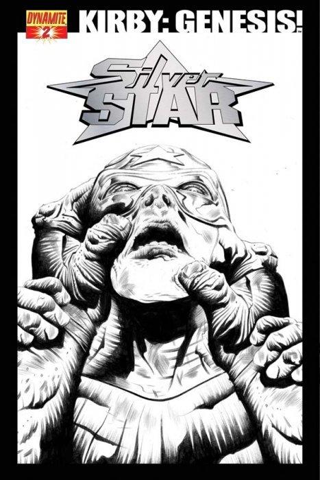 Kirby genesis silver star 1c dynamite entertainment comicbookrealm