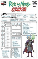 Oni Press's Rick And Morty Vs Dungeons & Dragons Chapter II: Painscape Issue # 2c