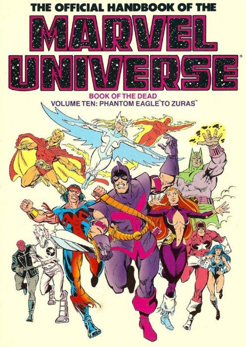 official marvel universe handbook