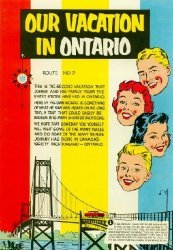 Ontario Dept. of Travel and Publicity's Our Vacation in Ontario Issue # 2