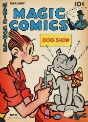 David McKay Publications's Magic Comics Issue # 91