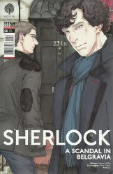 Titan Comics's Sherlock: A Scandal In Belgravia Issue # 5c