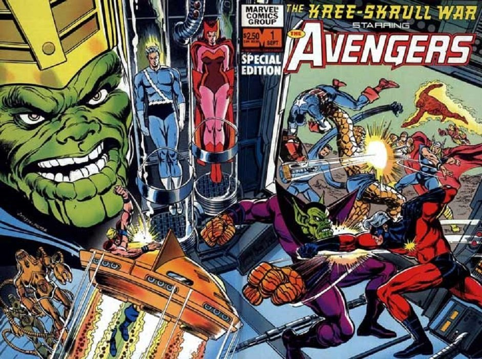 marvel comics kree skrull war