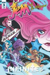 IDW Publishing's Jem and the Holograms: Infinite Issue # 3