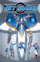 Antarctic Press's Sky Sharks TPB # 1