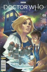 Titan Comics's Doctor Who Comic Issue # 3