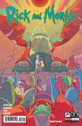 Oni Press's Rick and Morty Issue # 14