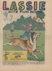 Western Printing Co.'s Lassie: Kite Fun Book Issue # 1sce