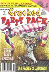 Globe Communications's Cracked: Party Pack Issue # 1
