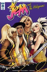 IDW Publishing's Jem and the Holograms Issue # 20sub