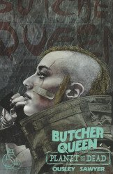 Red 5 Comics's Butcher Queen: Planet of the Dead Issue # 1b