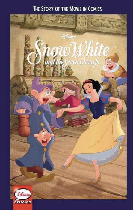 Book Cover Of Snow White ~ Snow white and the seven dwarfs story of movie in