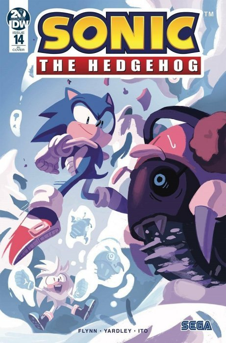 Sonic The Hedgehog Issue 13 Idw Publishing